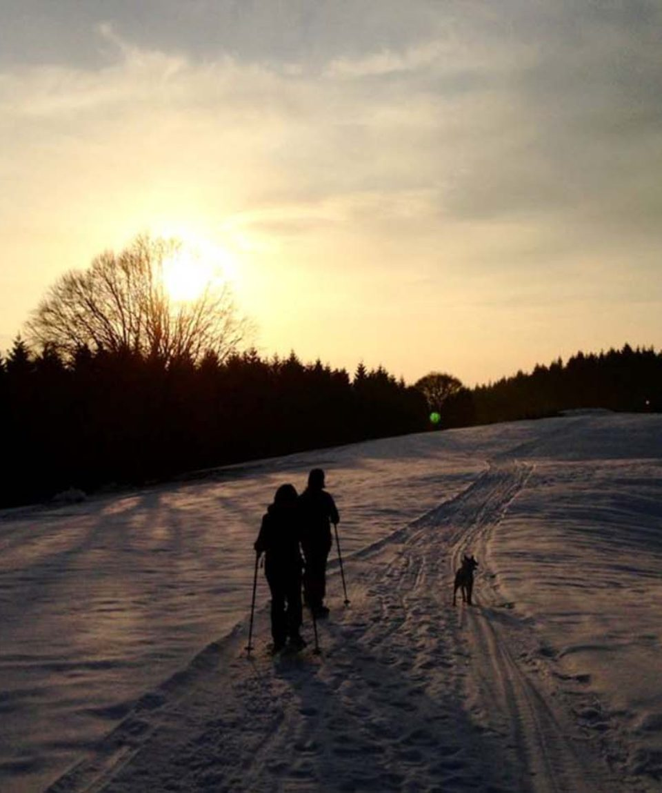ciaspolata-tramonto